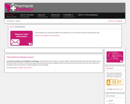 Accueil - Pharmacie Pasteur