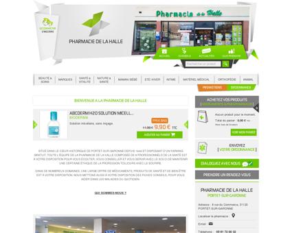 Home | Pharmacie de la Halle - Votre...