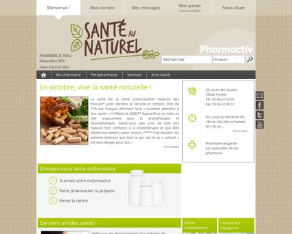 Pharmacie Nau, 33640 Portets - Votre...