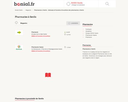 Pharmacies à Senlis - Adresses et horaires...
