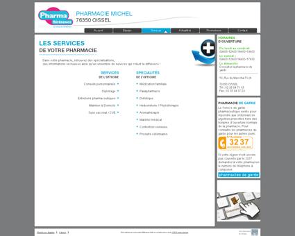 services | pharmacie michel - Votre pharmacie...