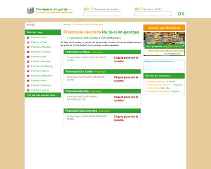 Pharmacie Nuits-saint-georges - Trouvez une...