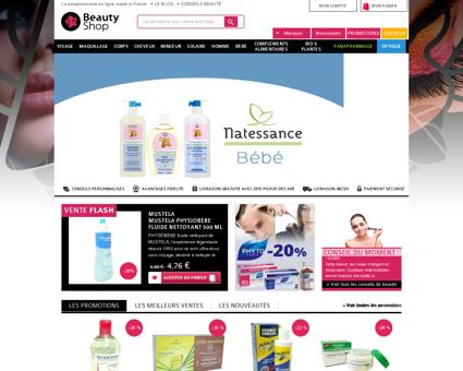Parapharmacie en ligne | beautyshop.fr