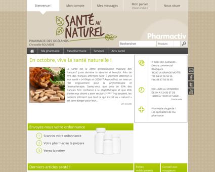 Pharmacie Des Goélands, 34280 LA GRANDE...