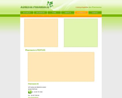 Pharmacie à PERTUIS - Pharmacie : l'adresse...