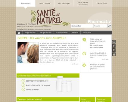 Pharmacie Centrale, 71300 MONTCEAU LES...