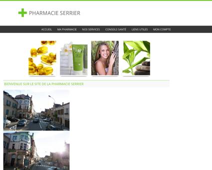 Pharmacie Serrier - Accueil