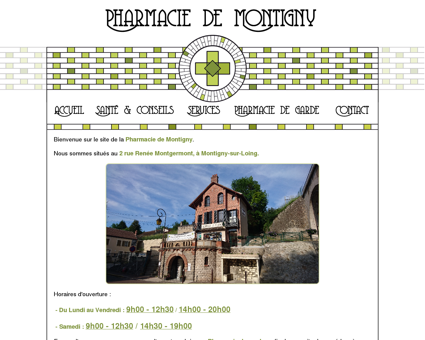 Pharmacie de Montigny : Accueil