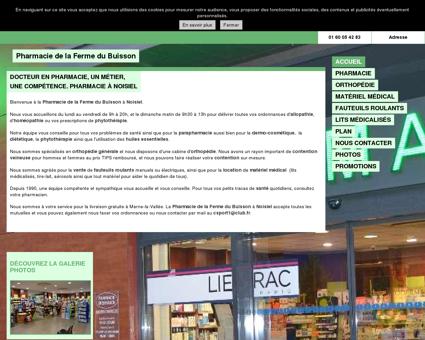 Pharmacie de la Ferme du Buisson à Noisiel (77)