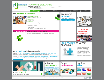 pharmacie de la gare - Votre pharmacie PHR...