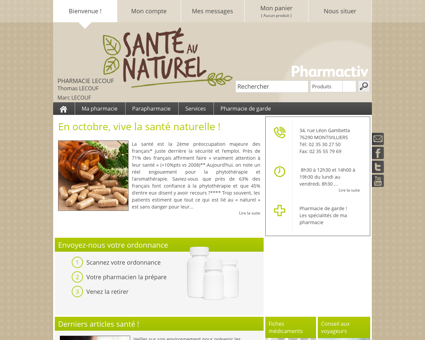 Pharmacie Lecouf, 76290 MONTIVILLIERS -...