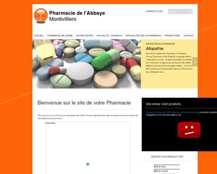 Pharmacie de l'Abbaye | Montivilliers
