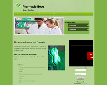 Pharmacie Beau | Neuvy Sautour