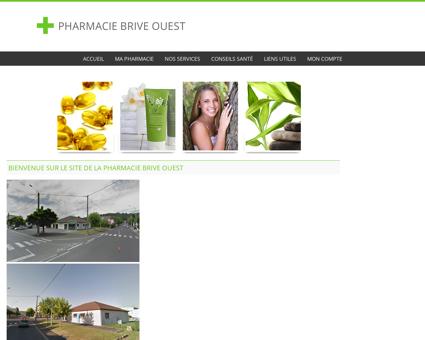 Pharmacie Brive Ouest - Accueil