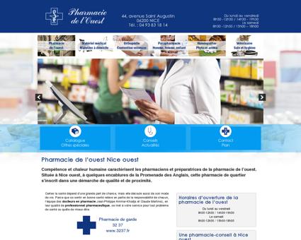 Pharmacie de l'Ouest, pharmacie à Nice Ouest ...
