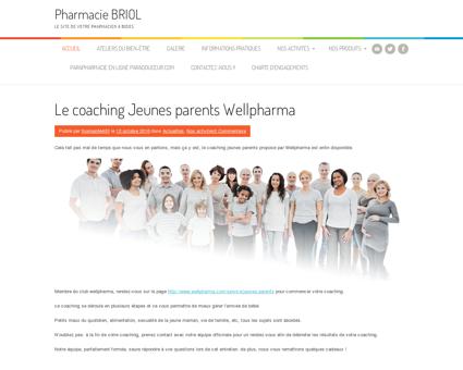 Pharmacie BRIOL, le site de votre pharmacien à...