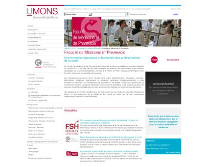 Faculté de Médecine et Pharmacie - Université...