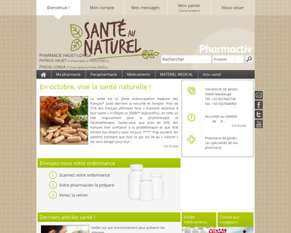 Pharmacie Hauet-longa, 59600 Maubeuge -...
