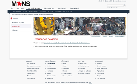 Pharmacies de garde  Site officiel de la Ville...