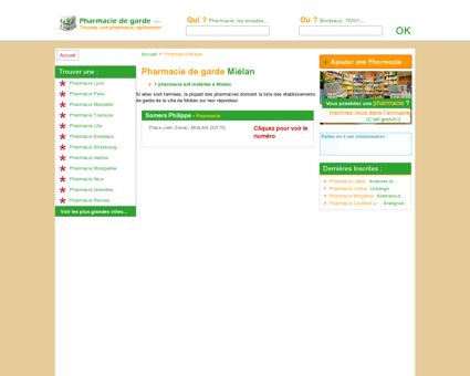 Pharmacie Miélan