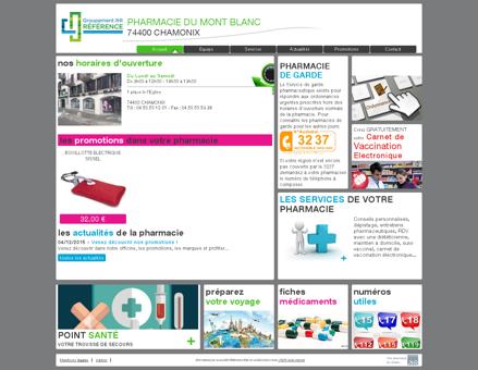 pharmacie du mont blanc - Votre pharmacie...