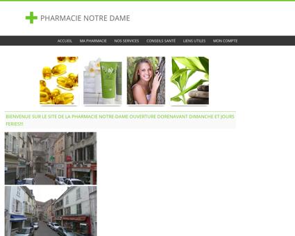 Pharmacie Notre Dame - Accueil