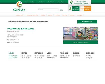 Pharmacie notre-dame, Soreze, 81540
