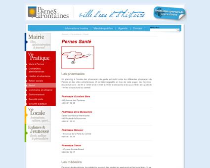 Santé | Ville de Pernes les Fontaines | Vaucluse ...