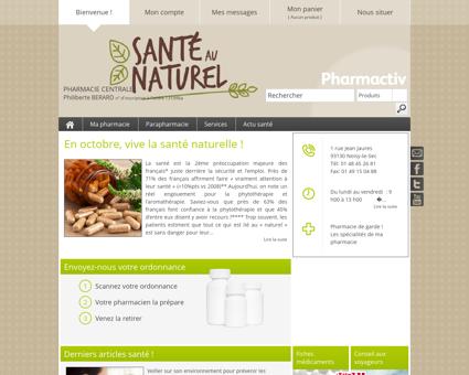 Pharmacie Centrale, 93130 Noisy-le-Sec -...