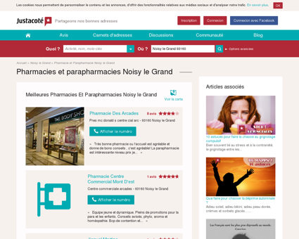Pharmacies Noisy le Grand 93160 - Guide des...