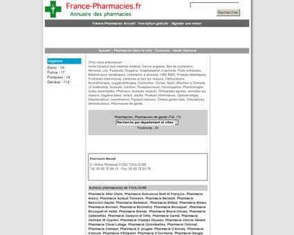 Pharmacie Massat - Toulouse - 31 Haute...