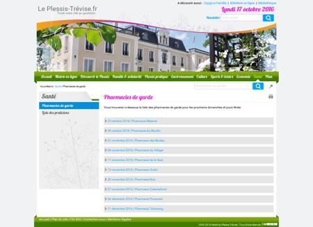 Le Plessis Trevise - Pharmacies de garde