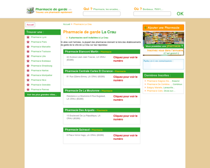 Pharmacie La Crau - Trouvez une pharmacie...
