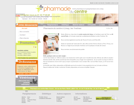 Pharmacie Centre Limay, Aubergenville -...