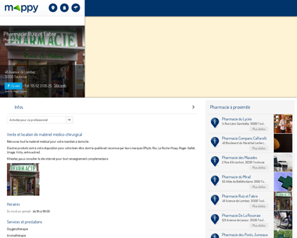 Pharmacie Ruiz et Fabre - Pharmacie, 48...