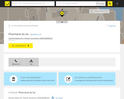 Pharmacie Lefrançois Bordeaux (adresse) -...