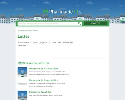 PHARMACIE LATTES - PHARMACIES 34970 -...