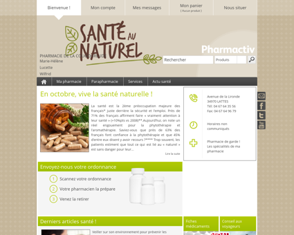 Pharmacie De La Cougourlude, 34970 LATTES ...