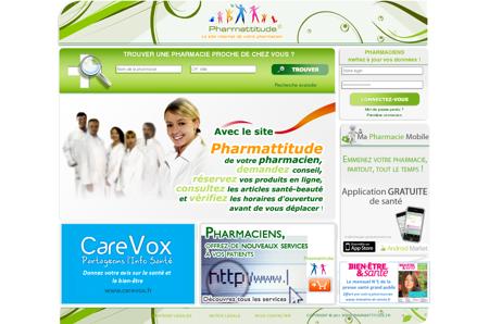 Pharmattitude : le site internet de votre...