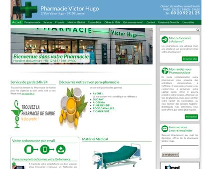 Accueil - Pharmacie Victor Hugo