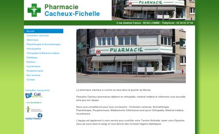Pharmacie Cacheux-Fichelle à LOMME - Vente...
