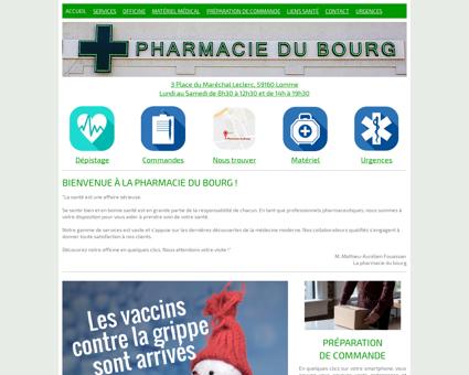 la pharmacie du bourg lomme - Accueil