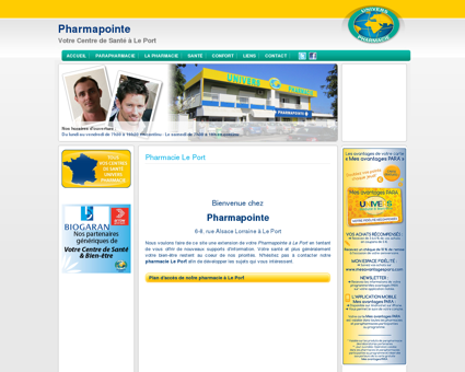 Univers Pharmacie Le Port | Pharmapointe -...
