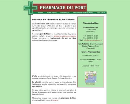 Pharmacie du port de Nice : Pharmacie Nice,...