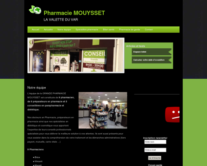 Notre équipe | Pharmacie MOUYSSET