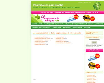 Pharmacies à lisle en dodon - Pharmacie : la...