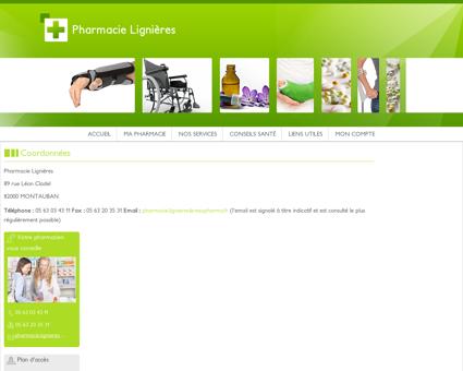 Pharmacie Lignières - Coordonnées