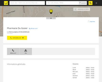 Pharmacie Du Gosier Le Gosier (adresse) -...