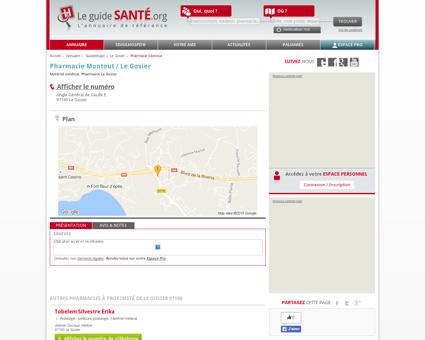 Pharmacie Montout / Le Gosier