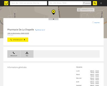Pharmacie De La Chapelle Gleizé (adresse,...